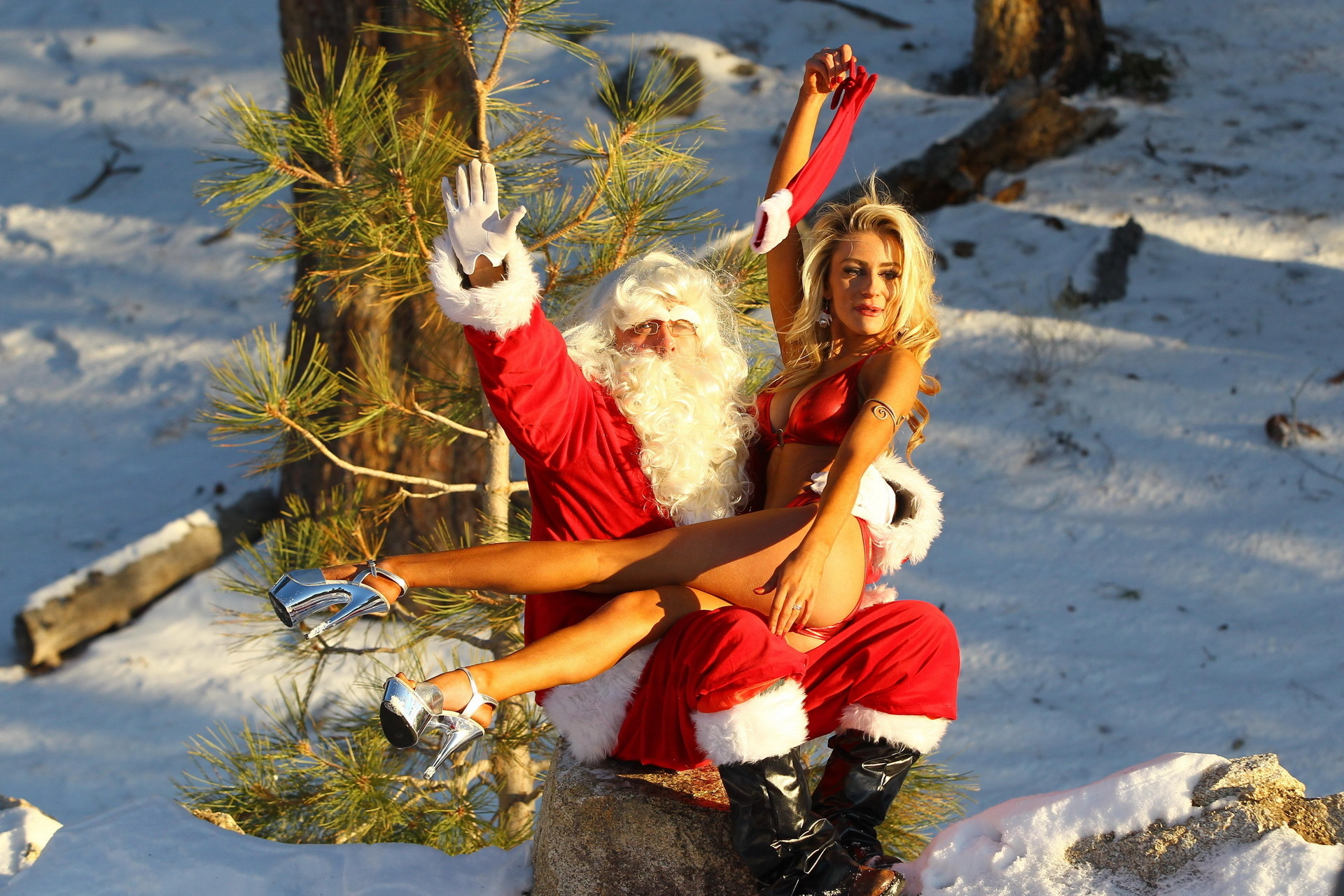 nude santa claus girl hd images